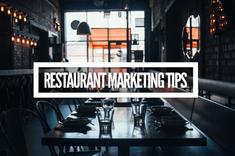 Restaurant Digital Marketing Tips Melbourne